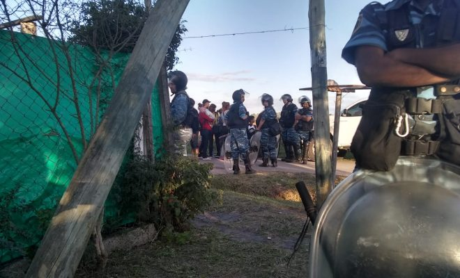 toma de tierras policía bonaerense